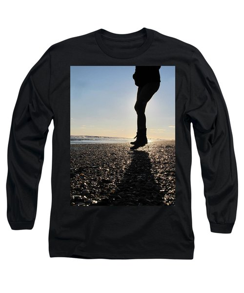 Jumping In The Sand Long Sleeve T-Shirt