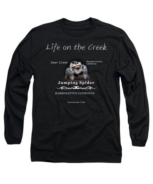 Jumping Spider Long Sleeve T-Shirt