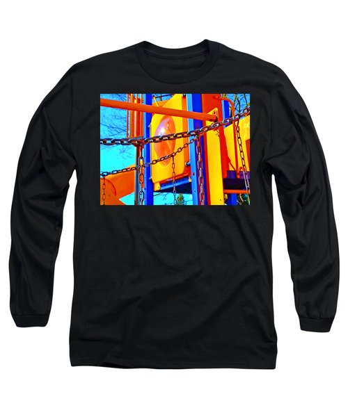 Jungle Gym Long Sleeve T-Shirt by Tobeimean Peter
