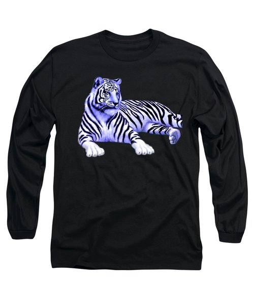 Jungle Tiger Long Sleeve T-Shirt by Glenn Holbrook