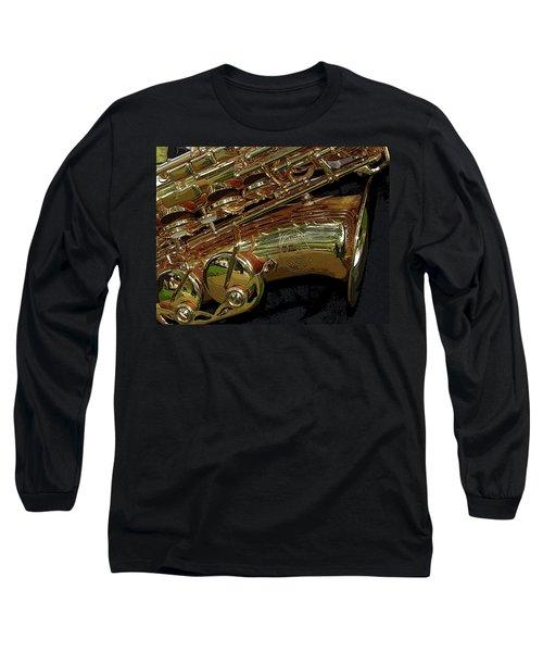 Jupiter Saxophone Long Sleeve T-Shirt