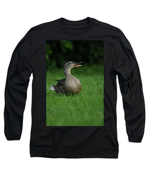 Just A Happy Duck Long Sleeve T-Shirt