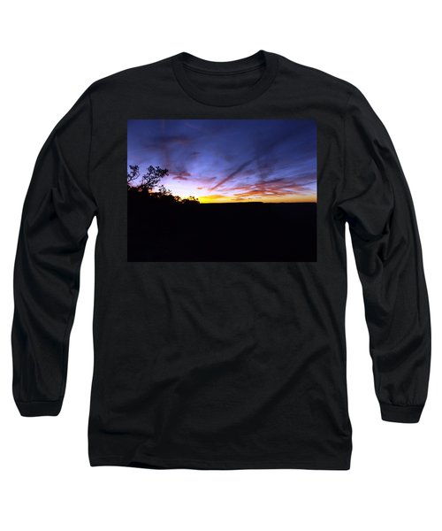 Just A Touch More Blue Long Sleeve T-Shirt by Adam Cornelison