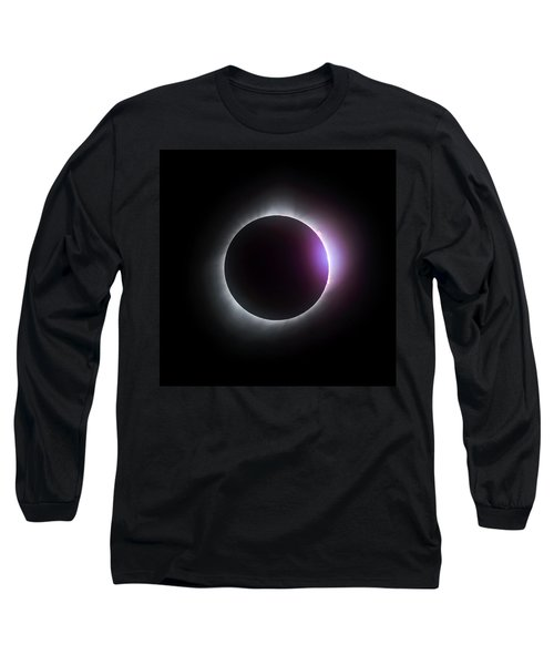 Just After Totality - Solar Eclipse August 21, 2017 Long Sleeve T-Shirt