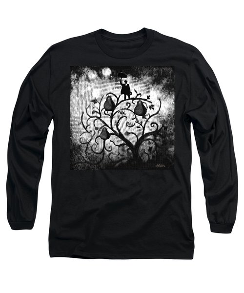 Long Sleeve T-Shirt featuring the digital art Just Another Day At Work by Delight Worthyn
