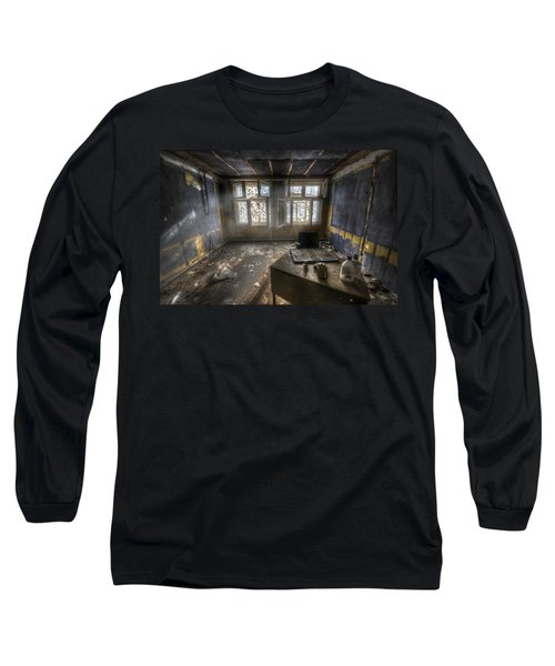 Just Another Day In The Office Long Sleeve T-Shirt by Nathan Wright