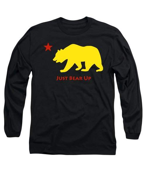 Just Bear Up Long Sleeve T-Shirt by Jim Pavelle