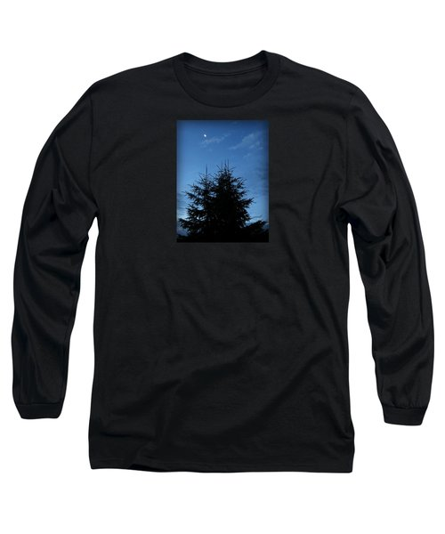 Just Before Sunrise Long Sleeve T-Shirt by Robin Regan