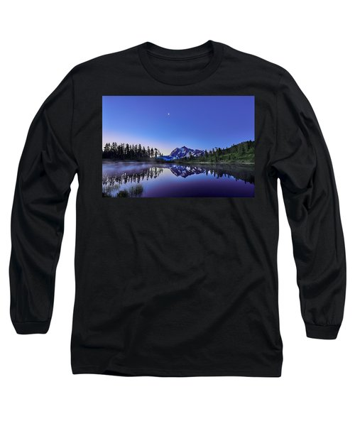 Long Sleeve T-Shirt featuring the photograph Just Before The Day by Jon Glaser