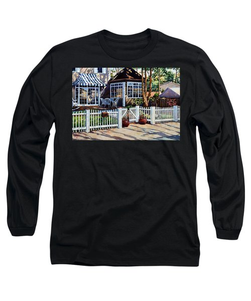 Just Beyond The Pickets Long Sleeve T-Shirt