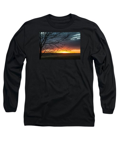 Just Breathe Long Sleeve T-Shirt by Shirley Heier