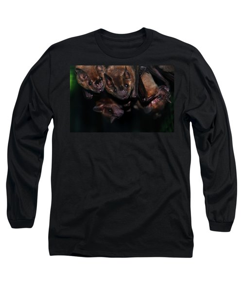 Just Hanging Around - Bats Long Sleeve T-Shirt