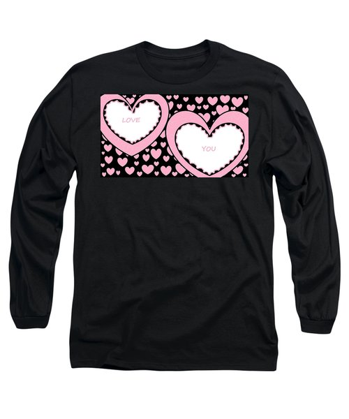 Just Hearts 2 Long Sleeve T-Shirt
