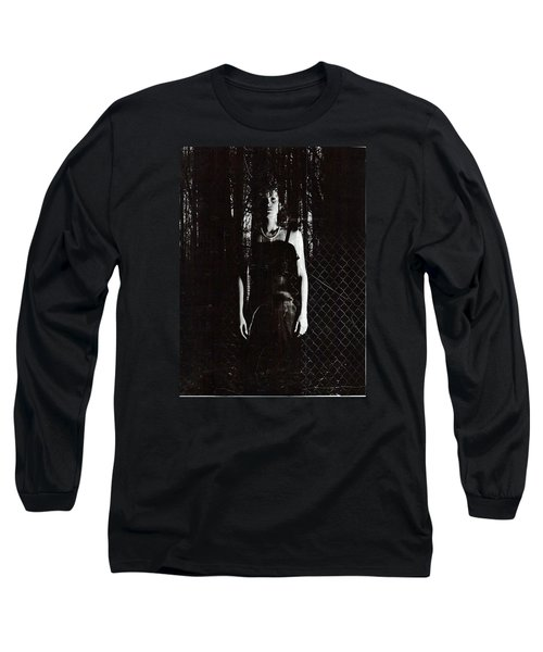 Long Sleeve T-Shirt featuring the photograph Just Waiting by James McAdams