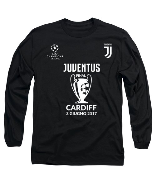 Juventus Final Champions League Cardiff 2017 Long Sleeve T-Shirt