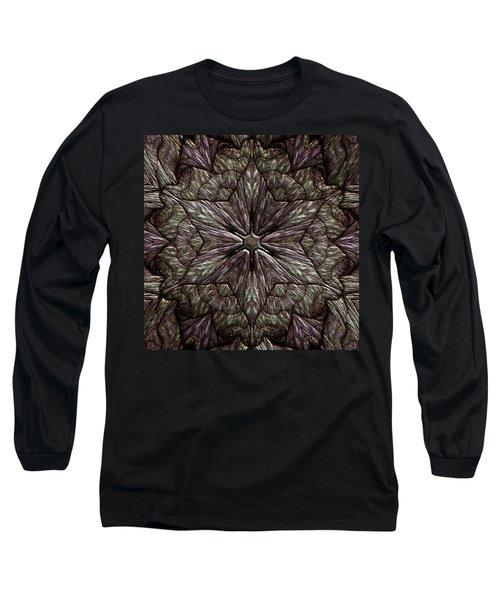 Long Sleeve T-Shirt featuring the digital art Jyoti Ahau 220 by Robert Thalmeier