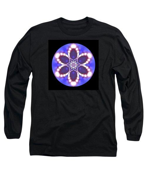 Long Sleeve T-Shirt featuring the digital art Jyoti Ahau 24 by Robert Thalmeier