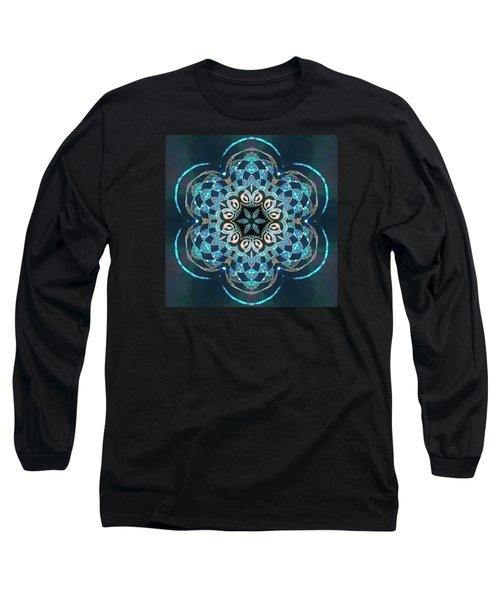 Long Sleeve T-Shirt featuring the digital art Jyoti Ahau 53 by Robert Thalmeier