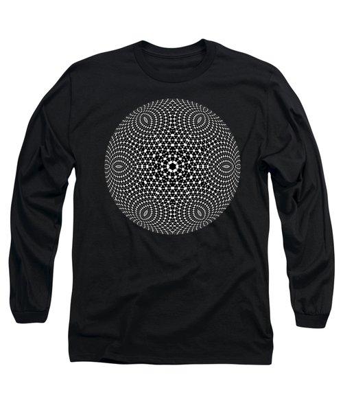 Long Sleeve T-Shirt featuring the digital art Jyoti Ahau 90 by Robert Thalmeier