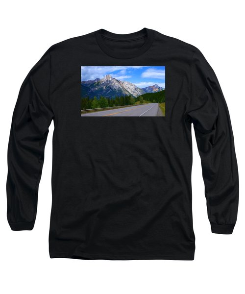 Kananaskis Country Long Sleeve T-Shirt by Heather Vopni