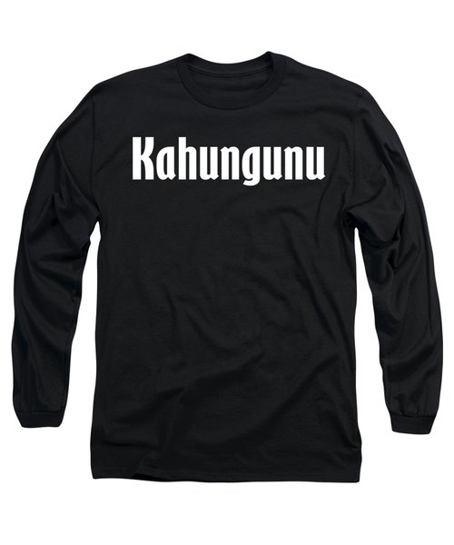 Kahungunu Long Sleeve T-Shirt by Regan Butler