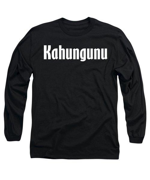 Kahungunu Long Sleeve T-Shirt