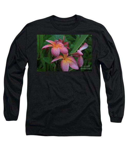 Kaikena Dreams Melia Aloha Keanae Long Sleeve T-Shirt by Sharon Mau