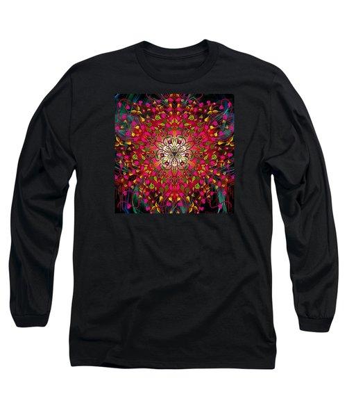 Kaleidoflower#7 Long Sleeve T-Shirt
