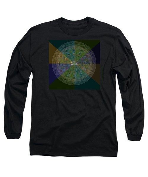 Kaleidoscope Eye Long Sleeve T-Shirt