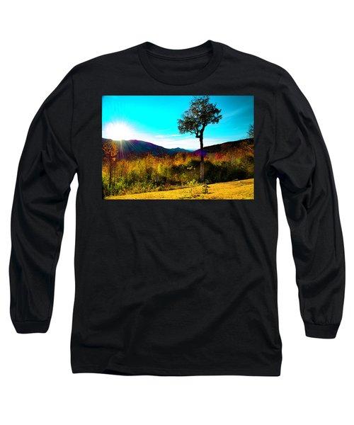 Kancamagus Sunset Long Sleeve T-Shirt
