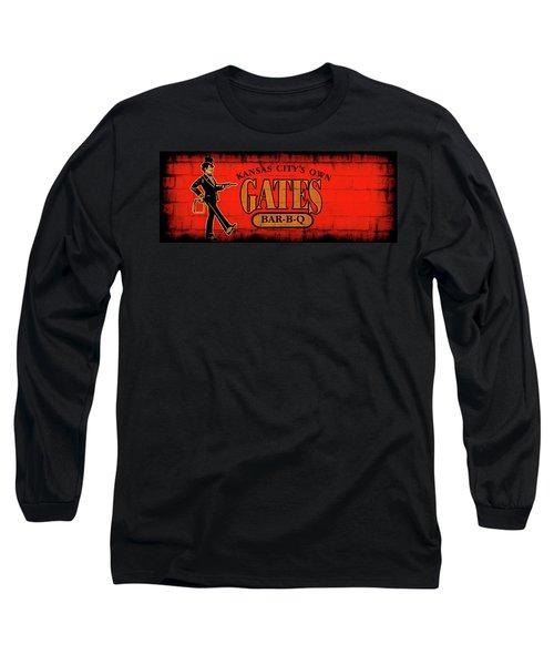 Kansas City's Own Gates Bar-b-q Long Sleeve T-Shirt