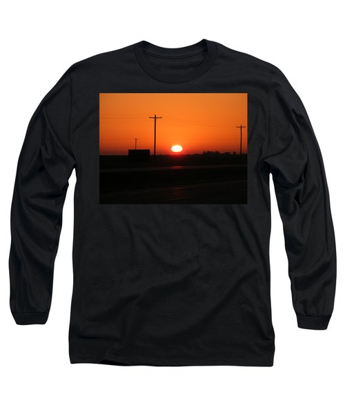 Kansas Sunrise Long Sleeve T-Shirt