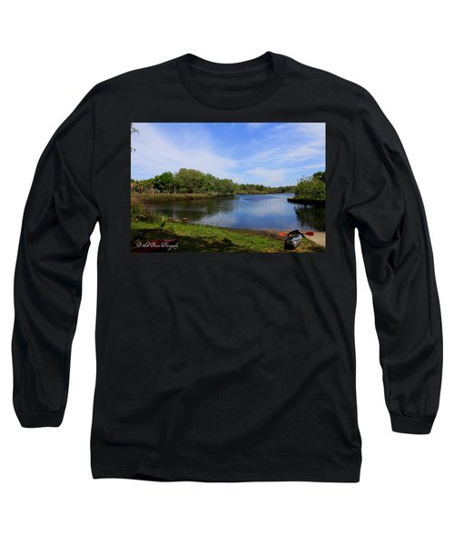 Kayaking The Cotee River Long Sleeve T-Shirt