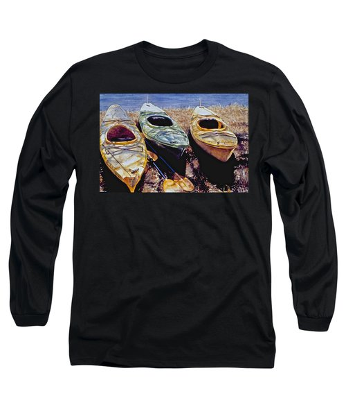 Kayaks Long Sleeve T-Shirt