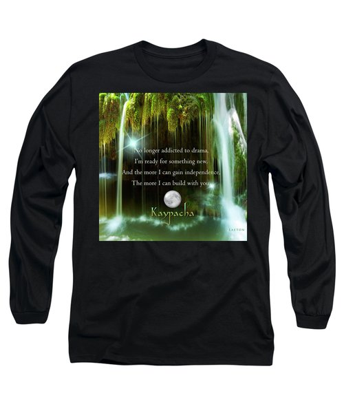 Kaypacha - November 10, 2016 Long Sleeve T-Shirt by Richard Laeton