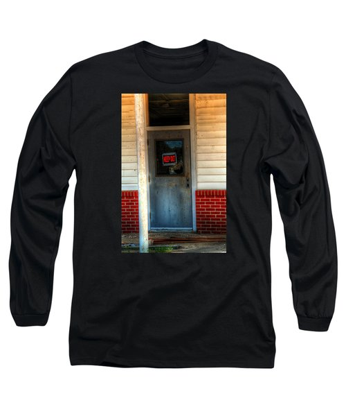 Keep Out Long Sleeve T-Shirt by Ester  Rogers