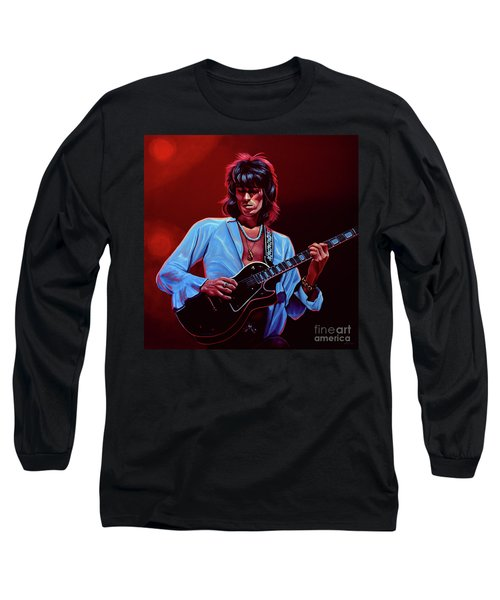 Keith Richards The Riffmaster Long Sleeve T-Shirt