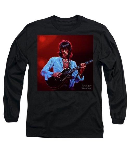 Keith Richards The Riffmaster Long Sleeve T-Shirt