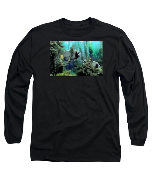 Kelp And Queen Anglefish Long Sleeve T-Shirt
