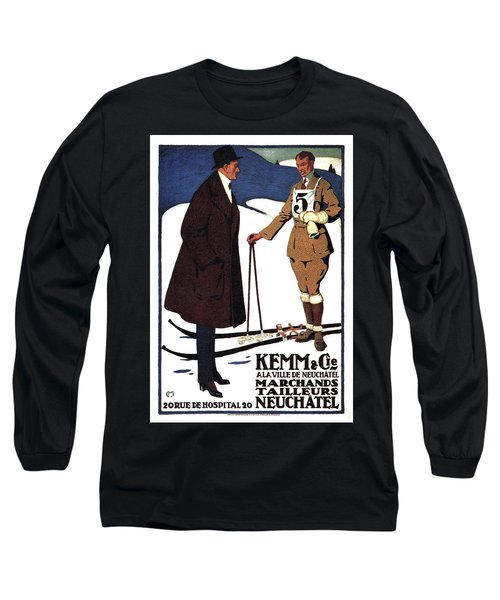Kemm And Cie - Tailors And Clothing Merchants - Vintage Advertising Poster Long Sleeve T-Shirt
