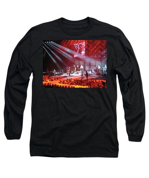 Kenny Chesney In Arizona Long Sleeve T-Shirt
