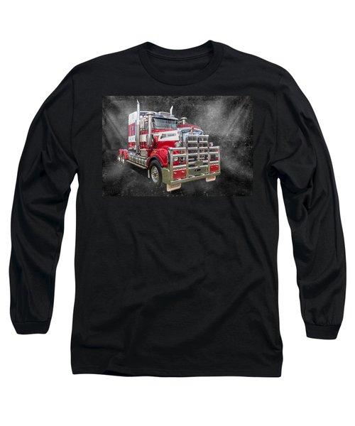 Kenny Long Sleeve T-Shirt by Keith Hawley