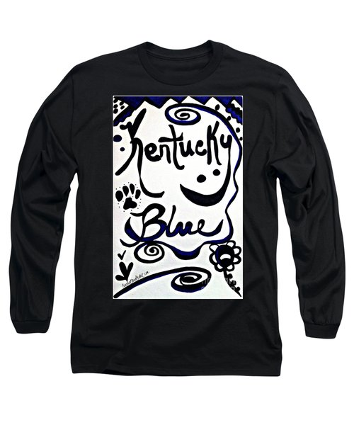 Kentucky Blue Long Sleeve T-Shirt