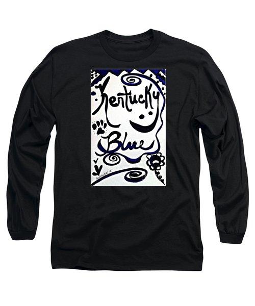 Kentucky Blue Long Sleeve T-Shirt
