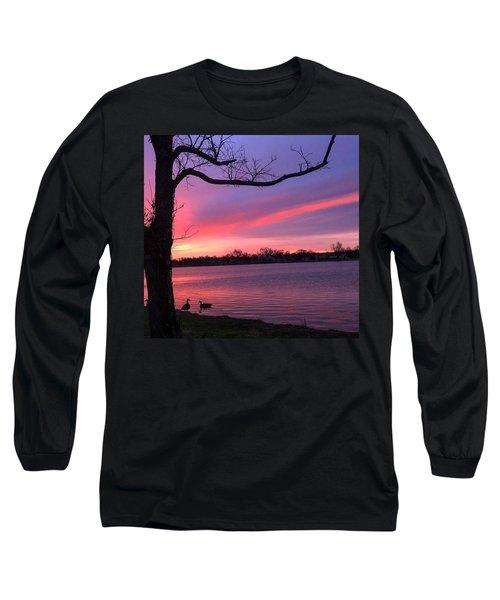 Kentucky Dawn Long Sleeve T-Shirt by Sumoflam Photography