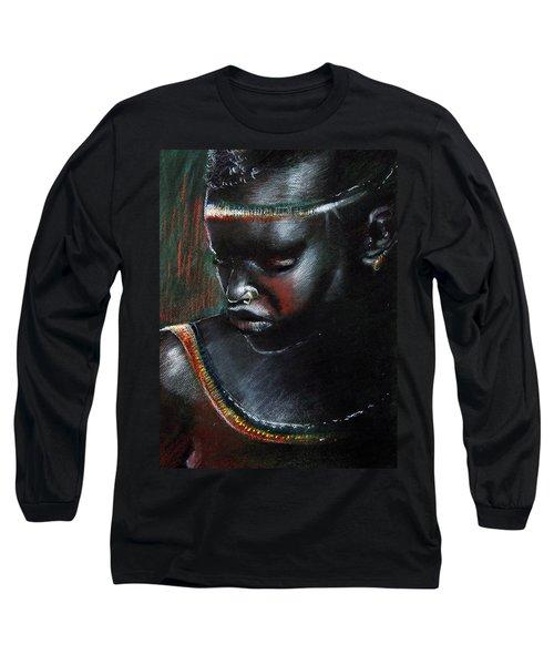 Kenya Beauty Long Sleeve T-Shirt