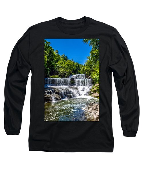 Keuka Outlet Waterfall Long Sleeve T-Shirt
