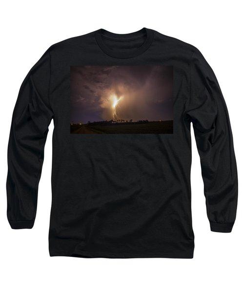 Kewl Nebraska Cg Lightning And Krawlers 014 Long Sleeve T-Shirt