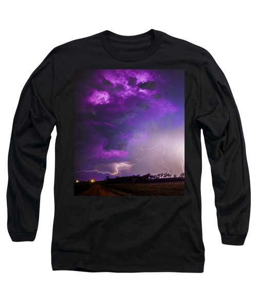 Kewl Nebraska Cg Lightning And Krawlers 038 Long Sleeve T-Shirt