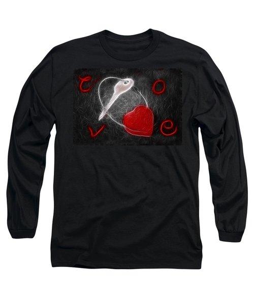 Key To The Heart Long Sleeve T-Shirt